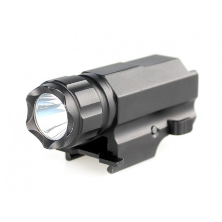 Flashlight P10 1x CREE XP-G R5 220 lumens for Gun