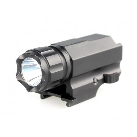 Lampe torche P10 1x CREE XP-G R5 220 lumens pour Pistolet