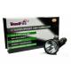 Flashlight X9 1x CREE XM-L T6 1000 lumens 5 modes