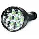 Lampe de poche TR-J18 7x CREE XM-L T6 8000 lumens 5 modes avec extension