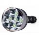 Lampe de poche TR-J16 5x CREE XM-L T6 4000 Lumens 5 modes