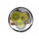 Flashlight TR-J19 3x CREE XML-2 4100 lumens 5 modes