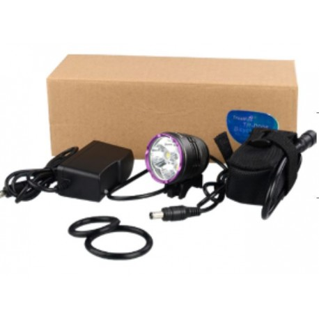 D006 bicycle light set with battery pack