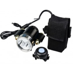 D007 bicycle light set with battery pack