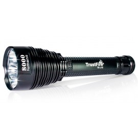 Flashlight TR-J18 7x CREE XM-L T6 8000 lumens 5 modes with extension
