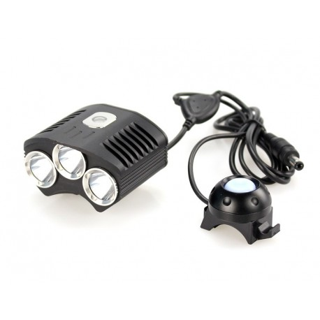 Flashlight Bicycle TR-D009 3x CREE XM-L T6 2100 lumens 4 modes