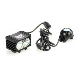 Lampe pour vélo TR-D002 2x CREE XM-L T6 1000 lumens 5 modes Flashlight Bicycle TR-D002 2x CREE XM-L T6 1000 lumens 5 modes