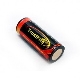 Rechargeable Lithium TF26650 5000mAh 3.7 V With Protection.