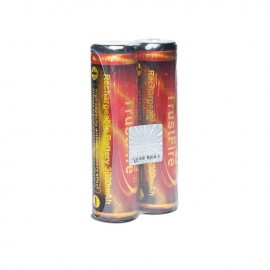 Trustfire 2x batteries rechargeables Lithium TF18650 3000 mAh 3.7 V avec protection